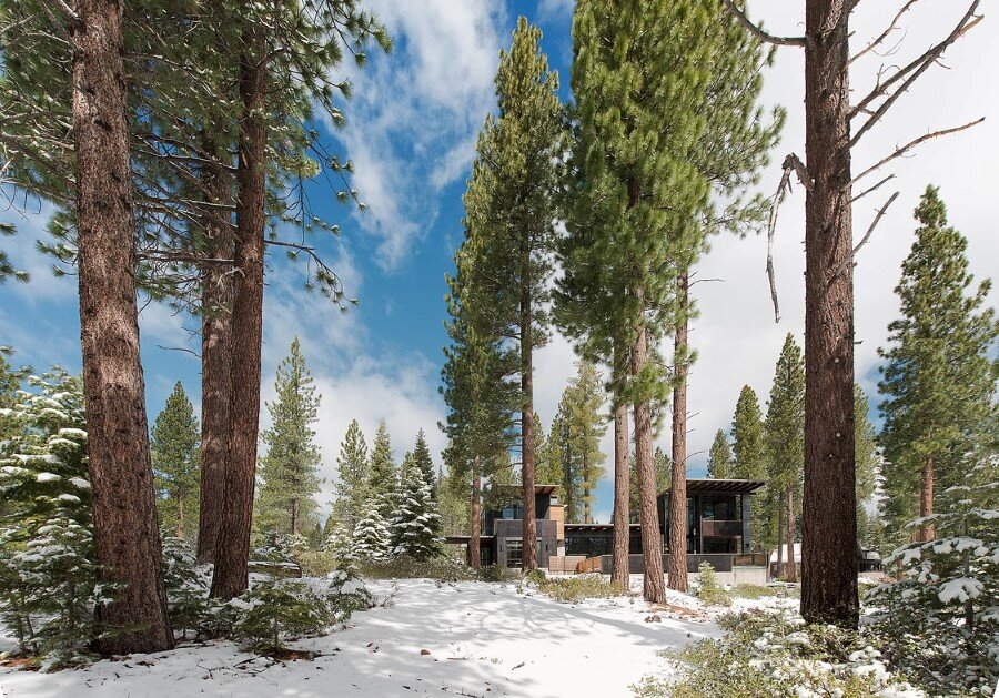 Martis Camp House in Northstar California by Faulkner Architects