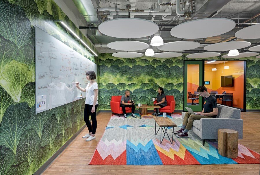 New Instacart Offices in San Francisco, California / Design Blitz