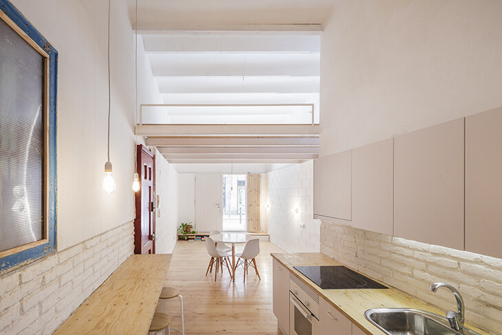 Casa Caballero in Barcelona – 35 sqm Turned into a Nice House