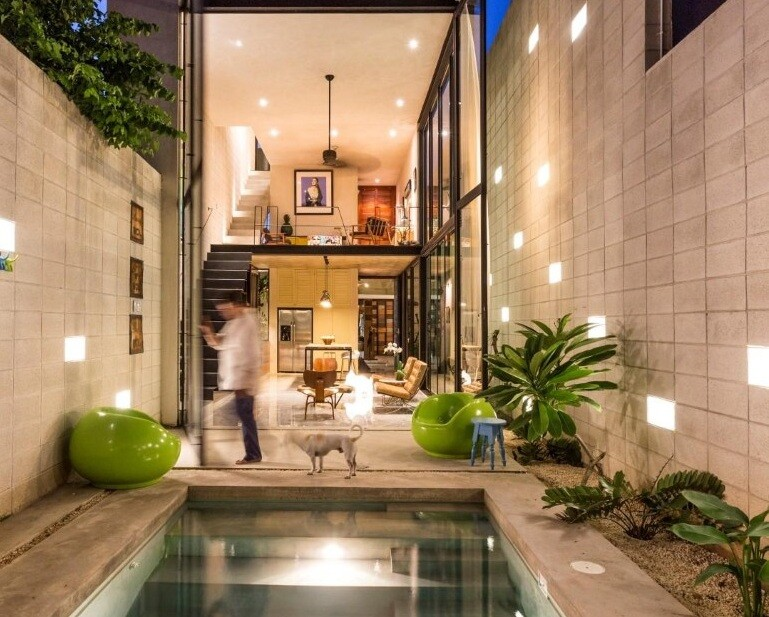 Raw House - Maximizing Vertical Space and Light on a ...