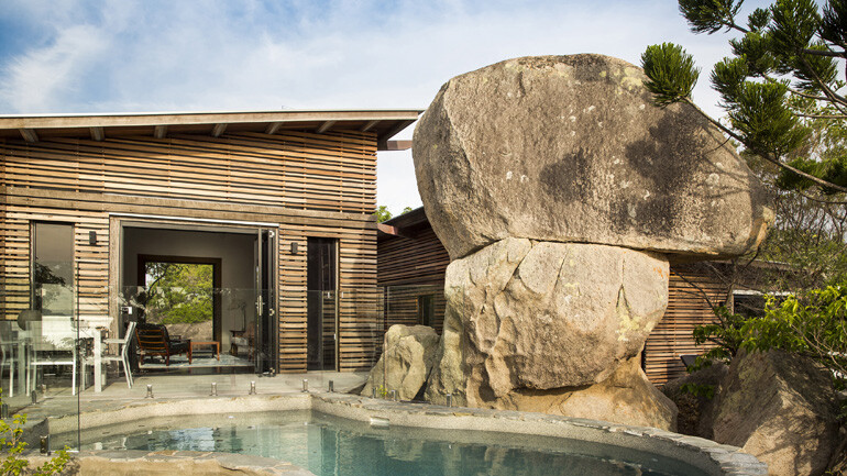 The Pavilions – Set Amongst the Treetops and Giant Granite Boulders