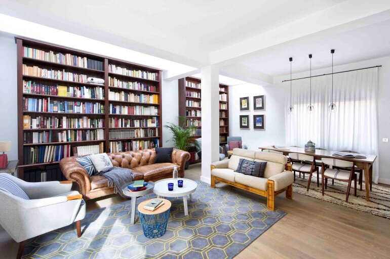 A Live-in Tale – Old Madrid House Turned into a Welcoming Home