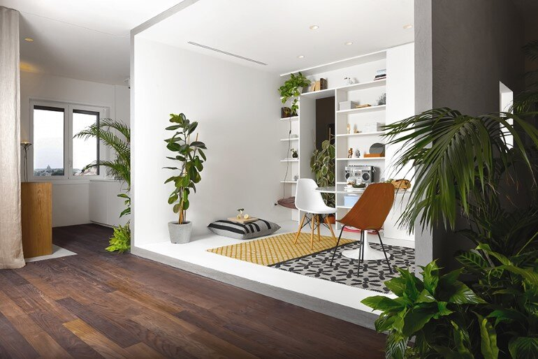 Brazilian Taste – Office Turned into a Fresh and Elegant Living Space
