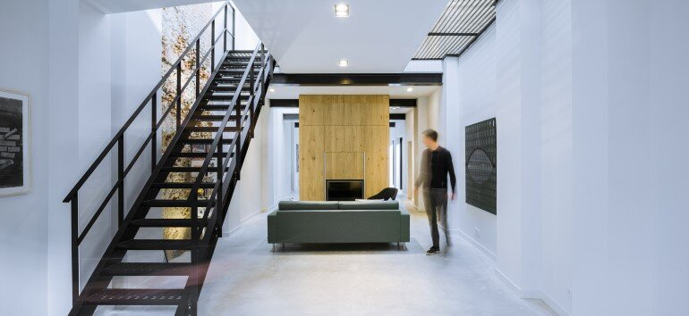 EVA Architecten Have Transformed an Old Workshop into a Charming Apartment