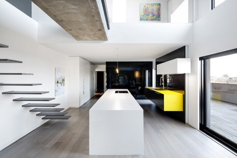 Habitat 67 minimalist apartment design in montreal for Minimalist house quebec