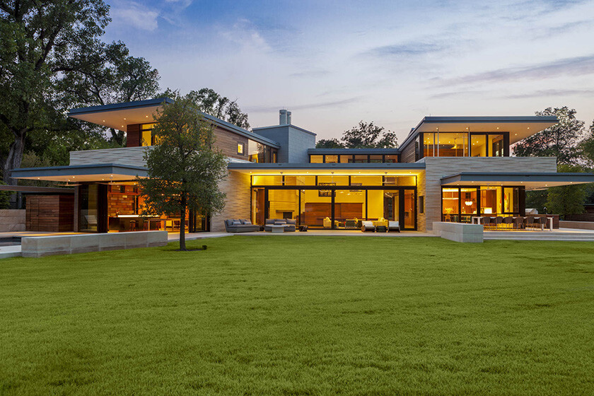 Lake Austin House by Aamodt Plumb Architects
