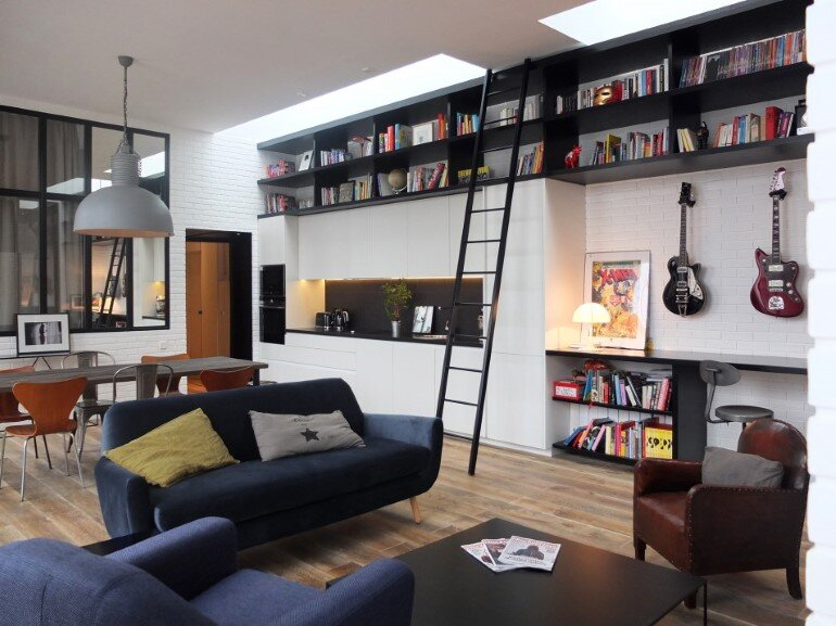 Rock The Loft by Nido Architecture / Paris