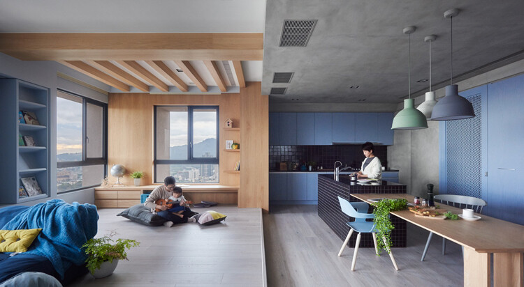 This Family Apartment is A Boundless Space of Joy and Delectable Delights