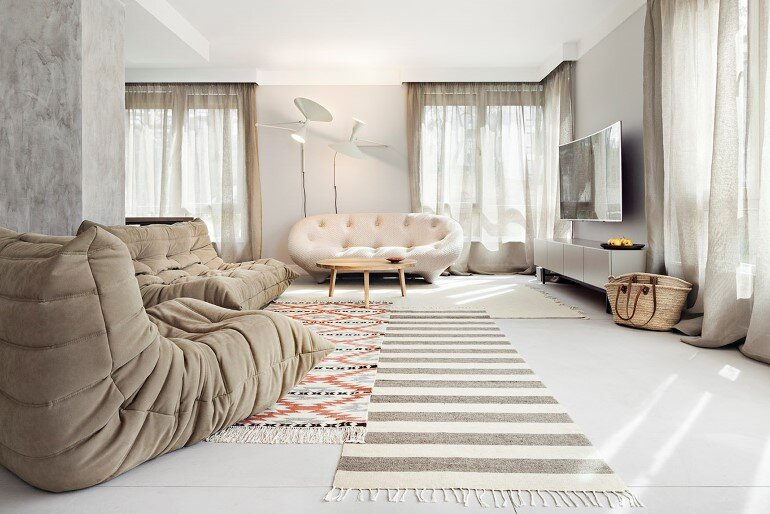 Bright Bulgarian Apartment with Delightful Interior Design Elements