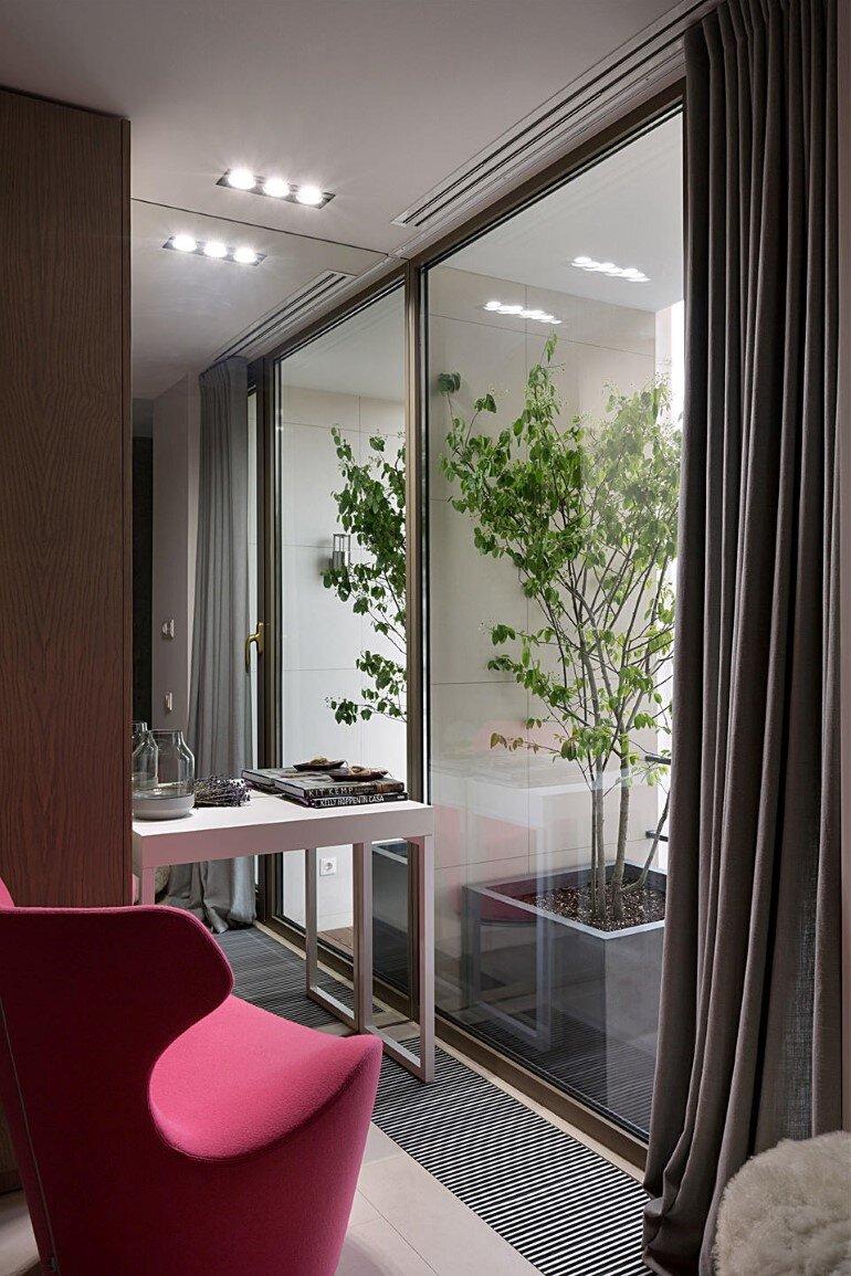 Industrial Interior Design - Kenzo Flat by Olga Akulova (5)