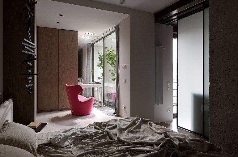 Industrial Interior Design:  Kenzo Flat by Olga Akulova