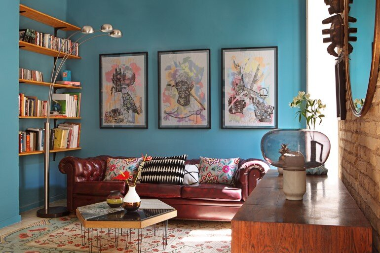 Loft in Valencia – Unmistakable Bohemian Bourgeois Décor