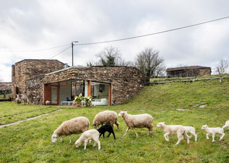 Old Stone Winery Transformed into a New Home