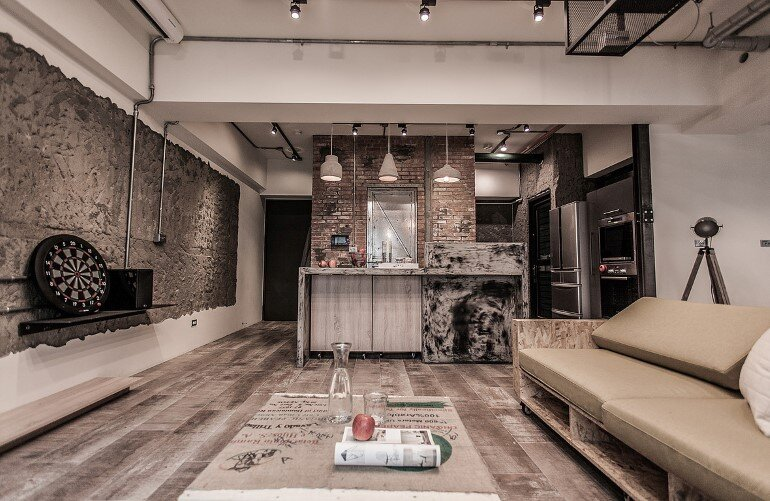 PC House – Industrial Interior Design by Formo Design Studio