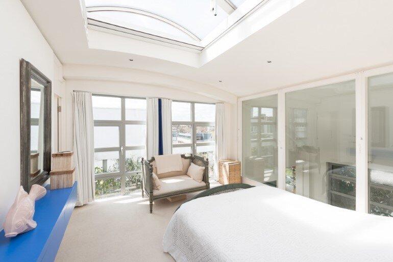 bedroom, Evans Davies Architects