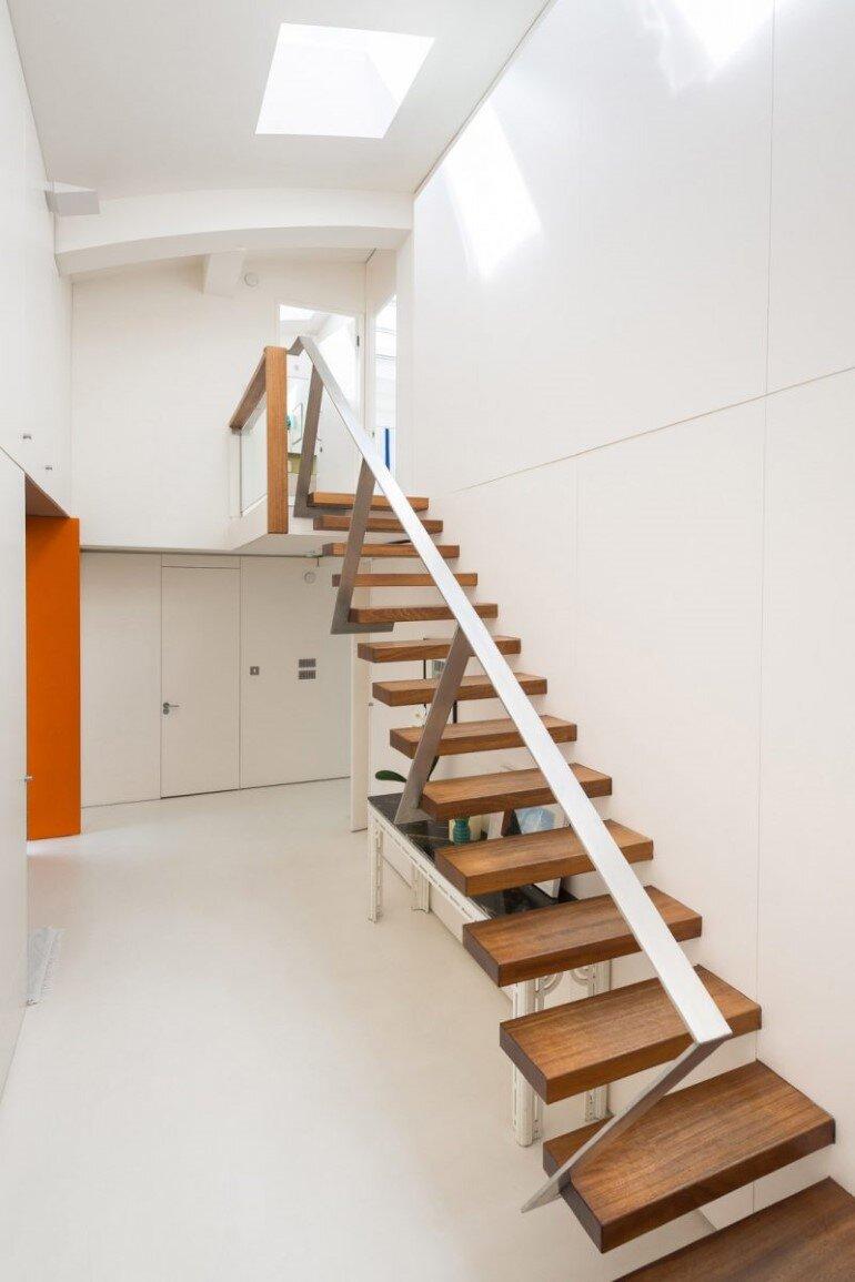 stairs, Evans Davies Architects