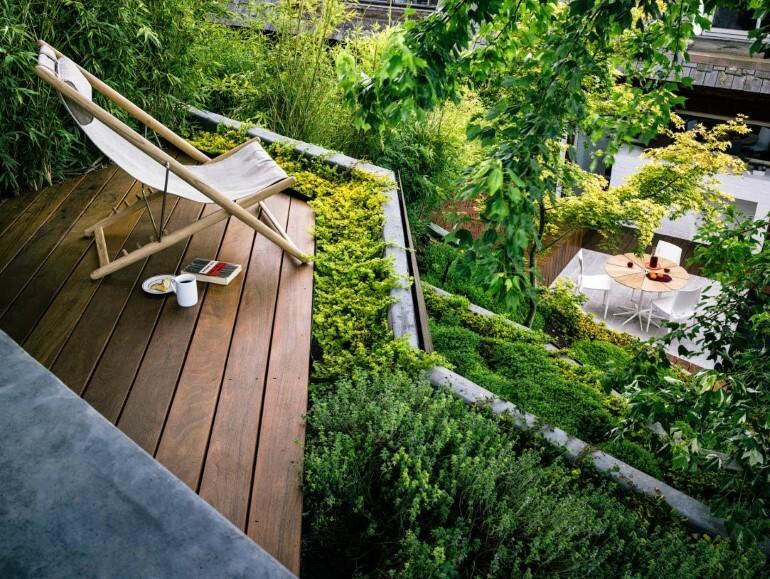 Zen Outdoor Living Space: Hilgard Garden