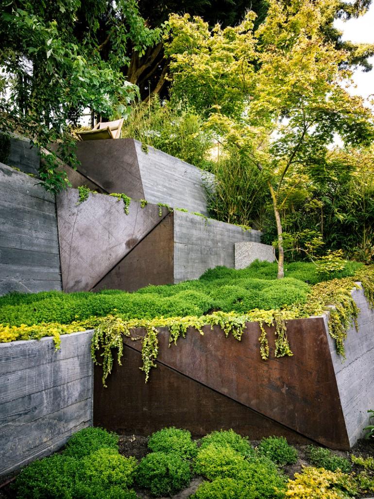 Zen Outdoor Living Space: Hilgard Garden on Garden And Outdoor Living id=70261