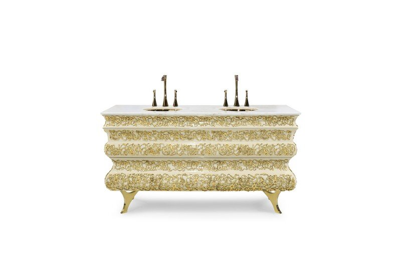 Art for the Bath: Crochet Washbasin by Maison Valentina