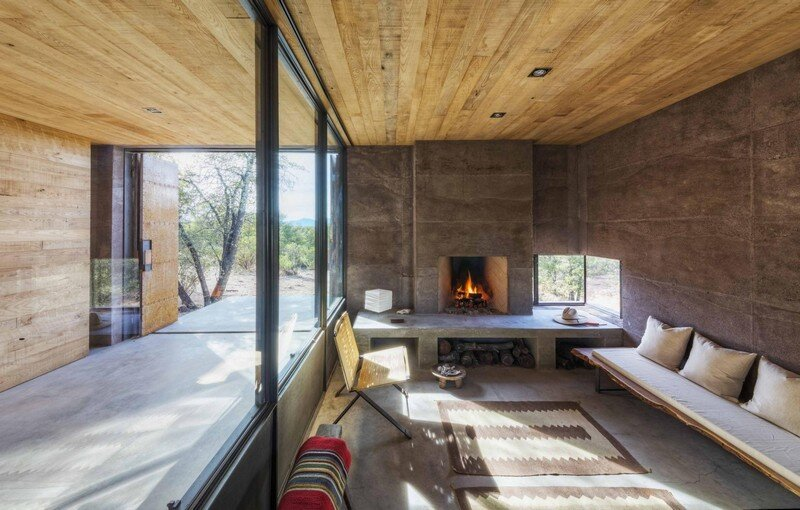 Casa Caldera: Small Shelter in Arizona by DUST