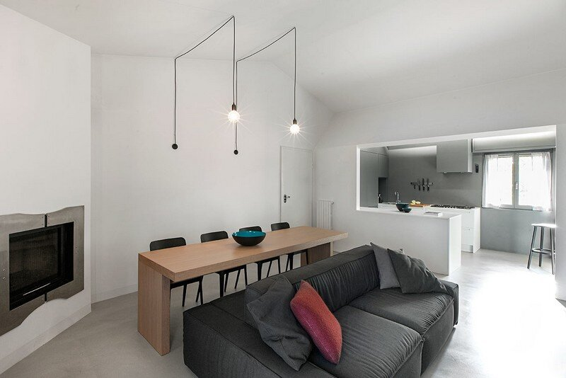 Lodge Apartment in Brescia, Italy / Flussocreativo