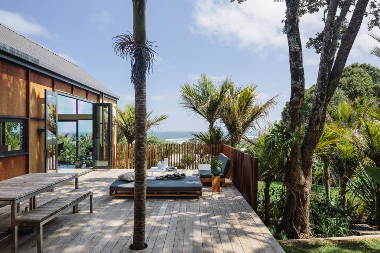 Motutara House in Muriwai Beach, New Zealand