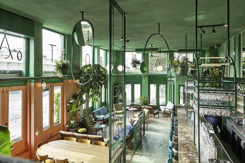 Bar Botanique Cafe Tropique by Studio Modijefsky