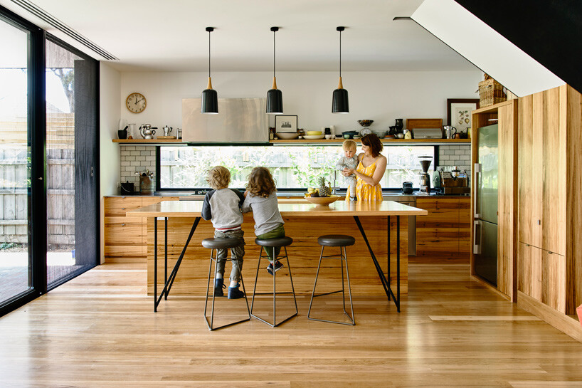 Garth House in Northcote by Ola Architecture Studio