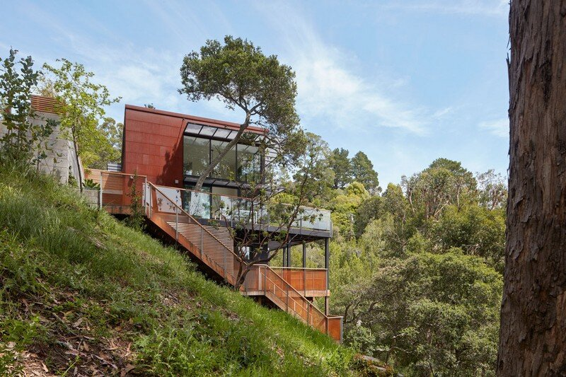 Hillside Residence by Zack de Vito Architecture California (1)