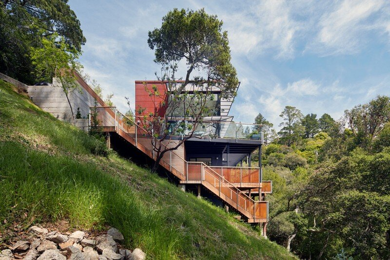 Hillside Residence by Zack de Vito Architecture California (12)
