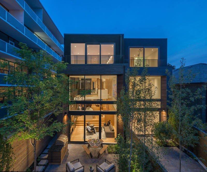 Two Slim Semi-Detached Dwellings Architects Luc Bouliane (12)