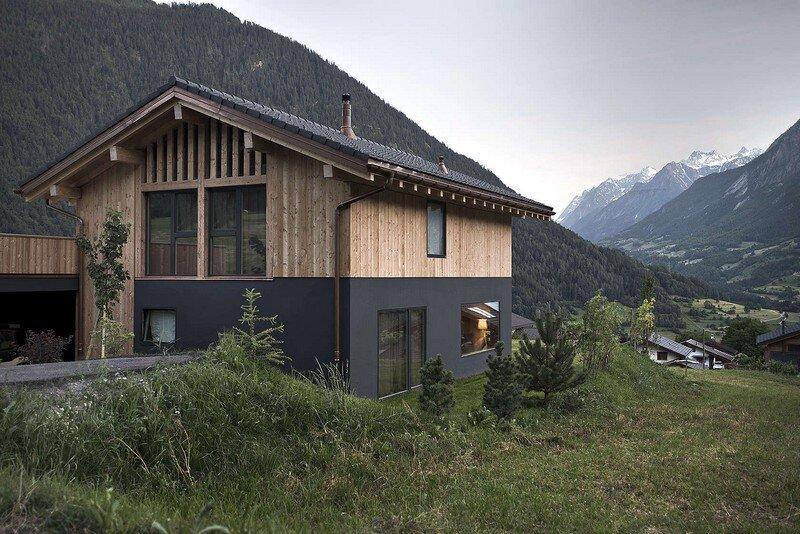 VS House by Alp'Architecture sàrl Switzerland (5)