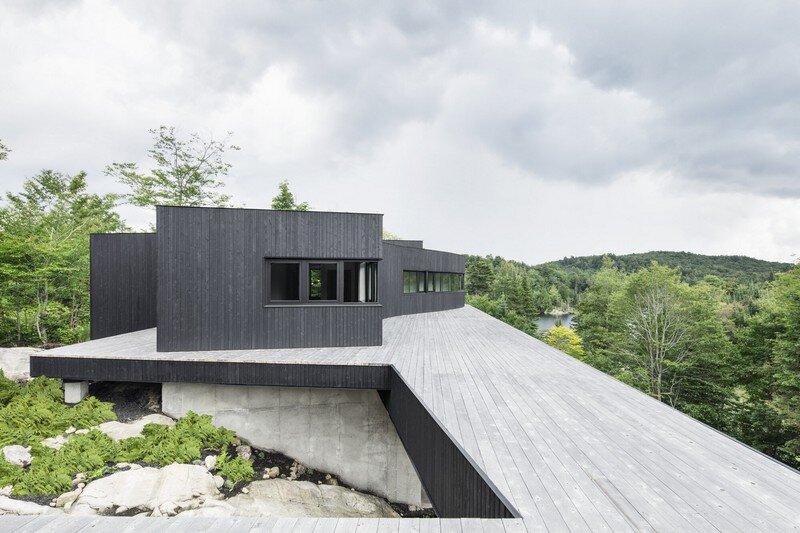 La Héronnière - Low Impact House Design by Alain Carle Architect (3)