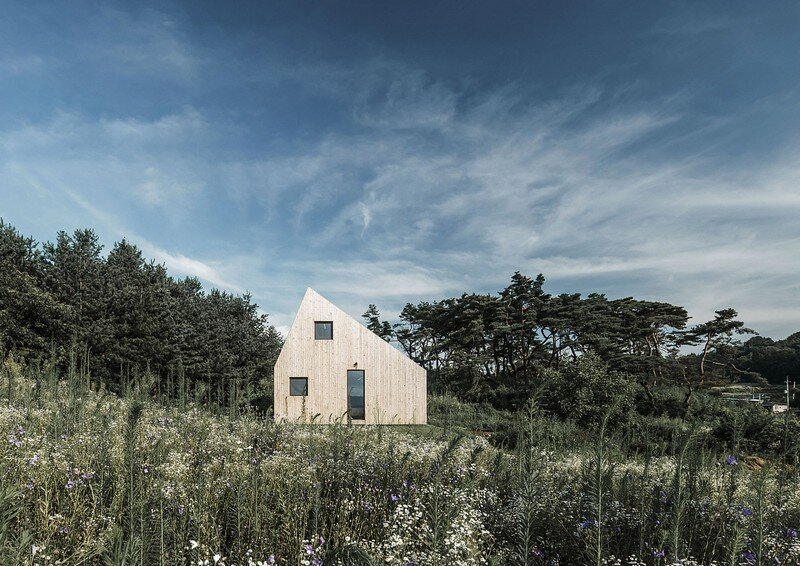 Shear House: Single Family House in Korea / stpmj