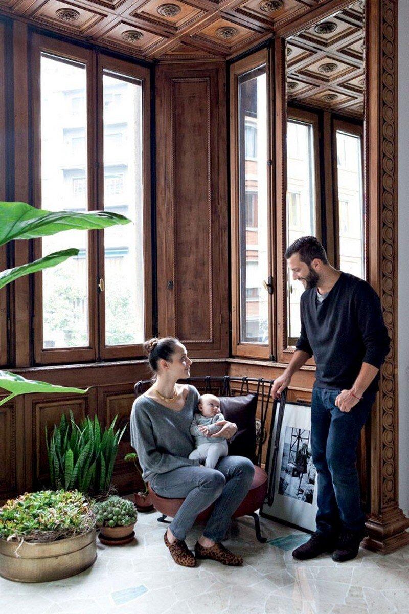 Art Nouveau Style Apartment in Milan Pietro Russo 14