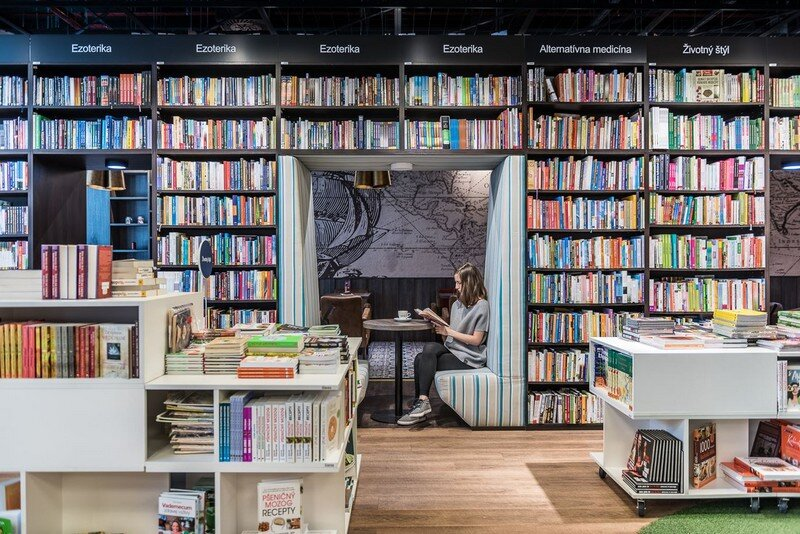 Bookstore and Cafe - Best Place for Meet and Read in Bratislava at26 studio