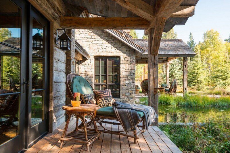 Fishcreek Woods: Tiny Guest Cottage in Jackson, Wyoming