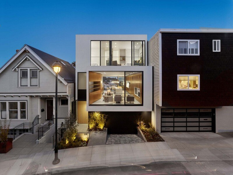 Laidley Street Residence in San Francisco / Michael Hennessey