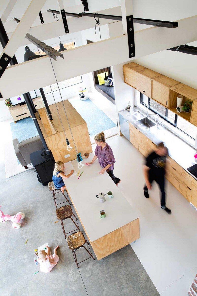 kitchen, Red Architecture 4
