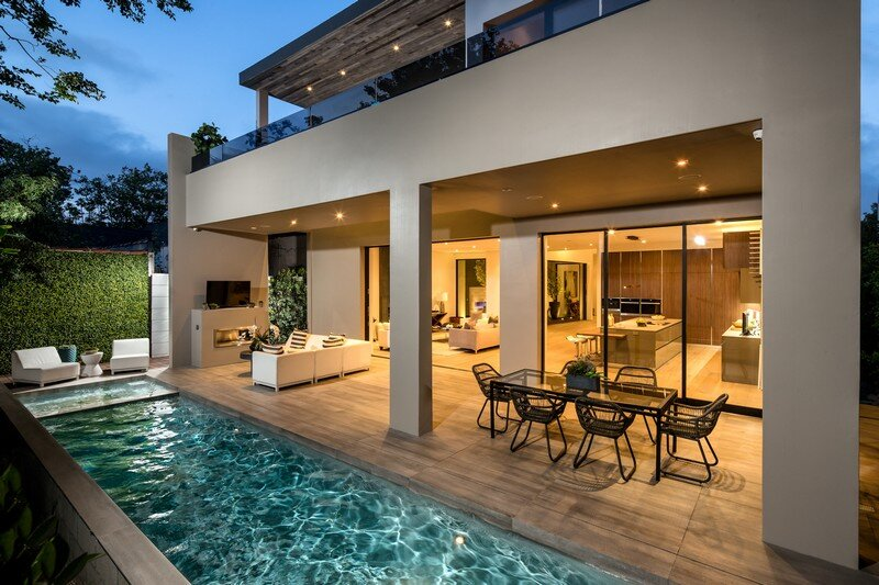 Modern Dream House West Hollywood Prime Five Homes on office floor plans