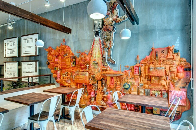 restaurant, Seattle, Board and Vellum 1