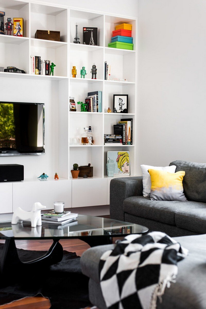 Old Maylands Cottage Turned into a Mid-Century Modern Home 2