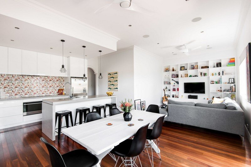 Old Maylands Cottage Turned into a Mid-Century Modern Home 3