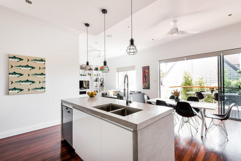 Old Maylands Cottage Turned into a Mid-Century Modern Home 6