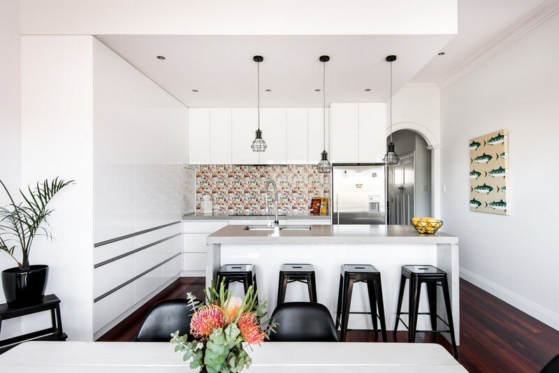 Old Maylands Cottage Turned into a Mid-Century Modern Home 4