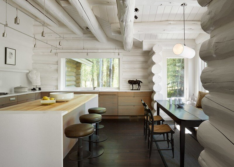 Rustic Retreat Updated with Contemporary Interiors Yellowbell by CLB Architects 5
