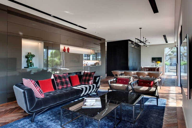 SH House - Modern Town House with a Mix of Design Motives 1