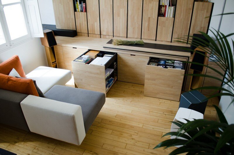 Small Bordeaux Apartment Revealing a Good Space Distribution 3