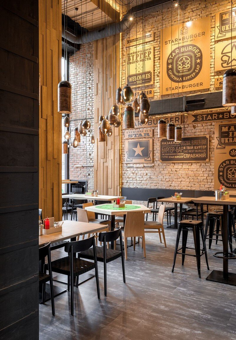 Star Burger - Classic American Bar Atmosphere in the Center of Kyiv 3