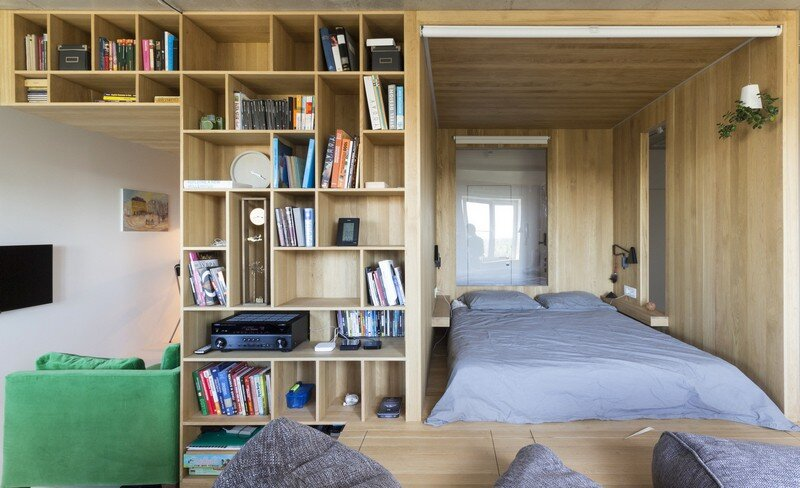 Two-Room Apartment for a Young Man Ruetemple 8